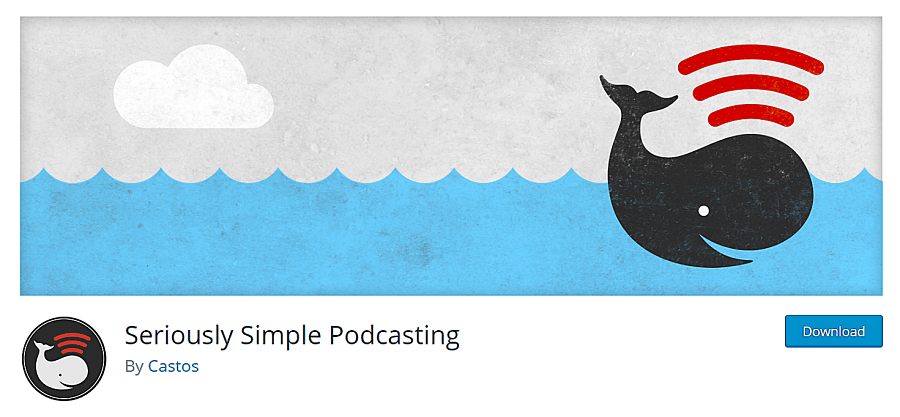 seriously simple podcasting plugin