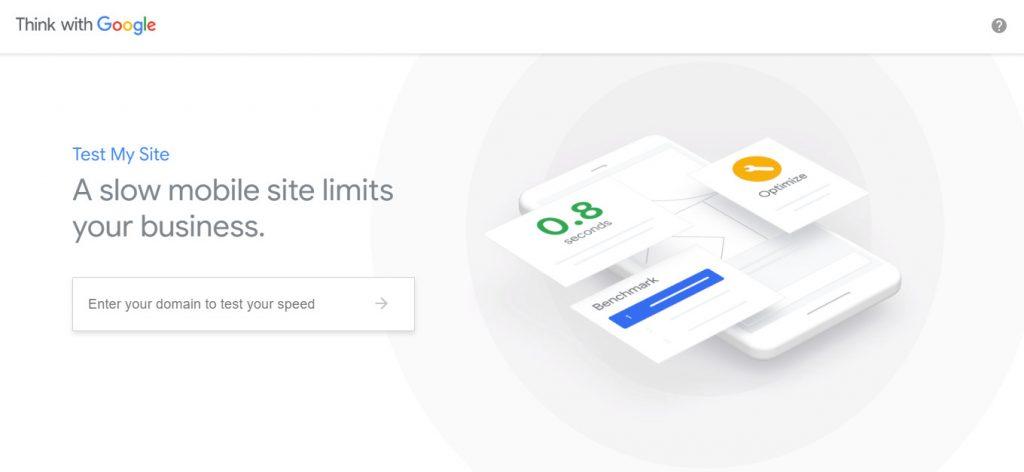 Công cụ kiểm tra tốc độ website Testmysite