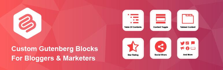 Ultimate Blocks plugin banner