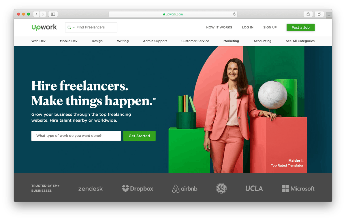 Upwork Allows You to Hire WordPress Freelancers with Membership Plans
