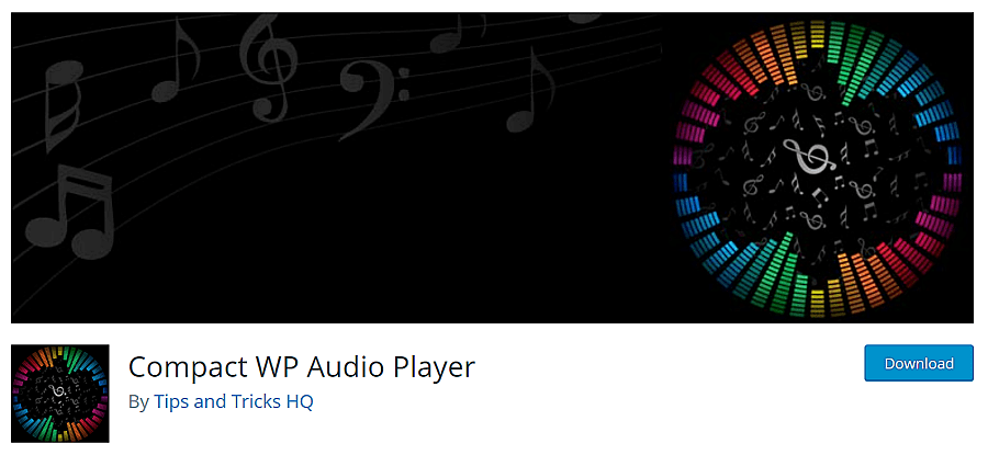 compact wp audio player wordpress plugin