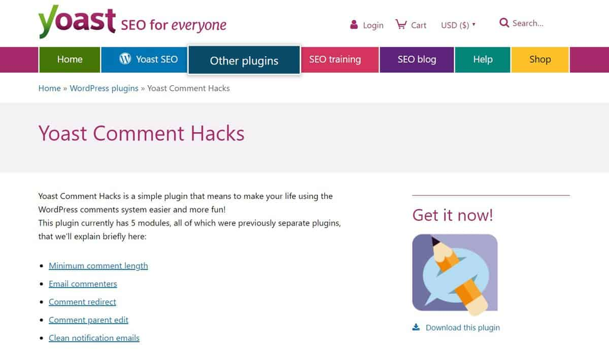 yoast comment hacks is a great wordpress comment plugin