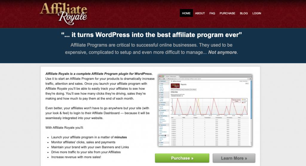 Affiliate Royal WordPress Affiliate Plugin
