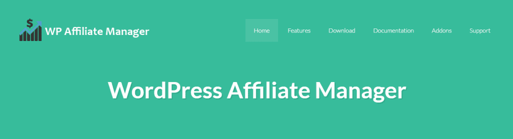Affiliate Manager webpage