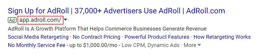 google ad app extension