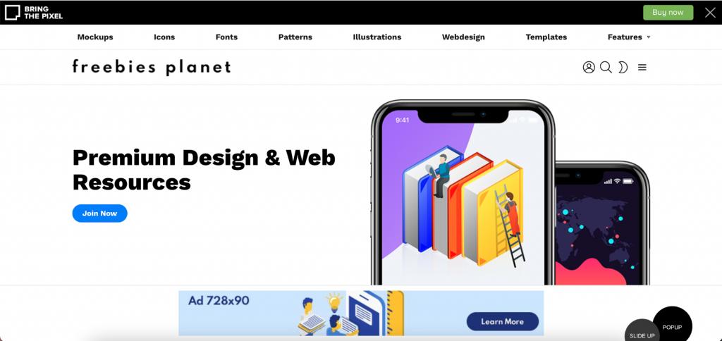 Screenshot of Bimber WordPress theme