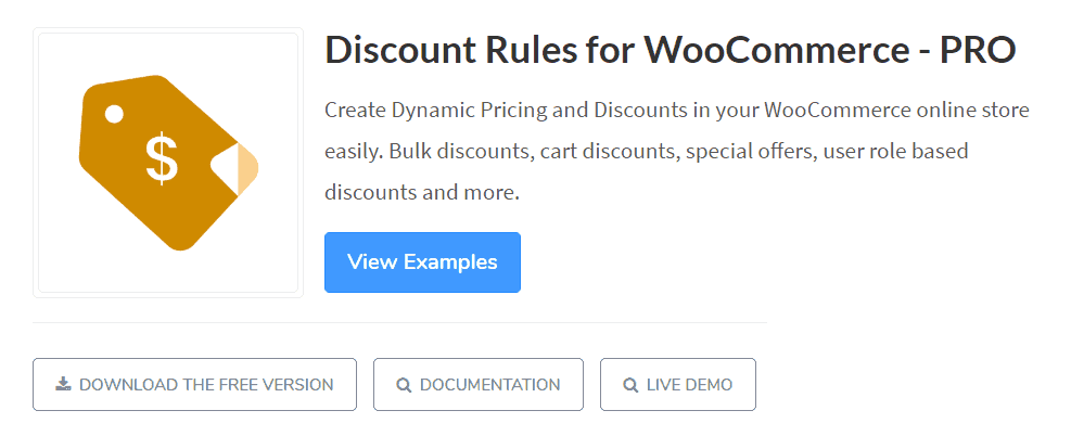 Discount rules woocommerce plugins