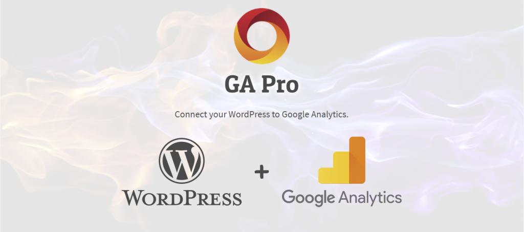 GA Pro WordPress GA Plugin