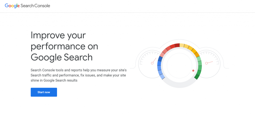 Google Search Console stating, improve your performance on Google Search