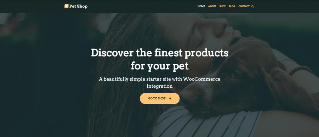 Screenshot of Neve WordPress theme