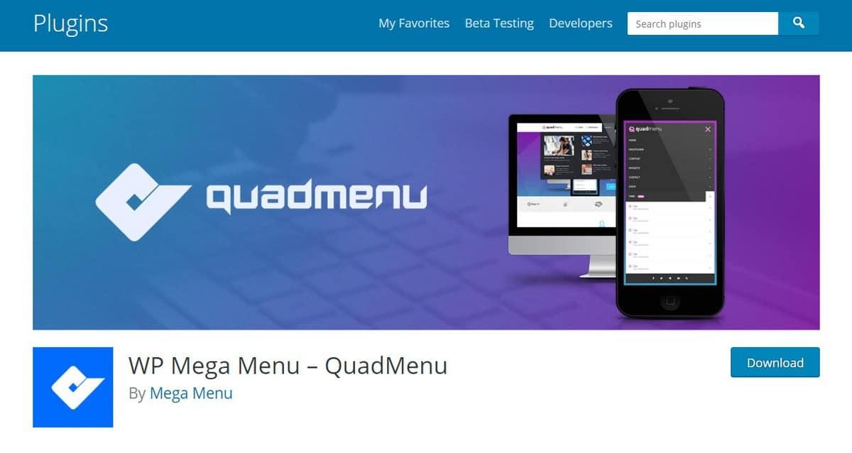 plugin tích hợp rất nhiều tính năng và bộ lọc để tùy chỉnh menu WordPress