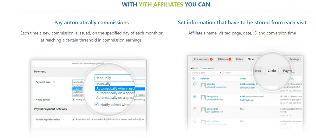 Yith Affiliates WordPress Affiliate Plugin