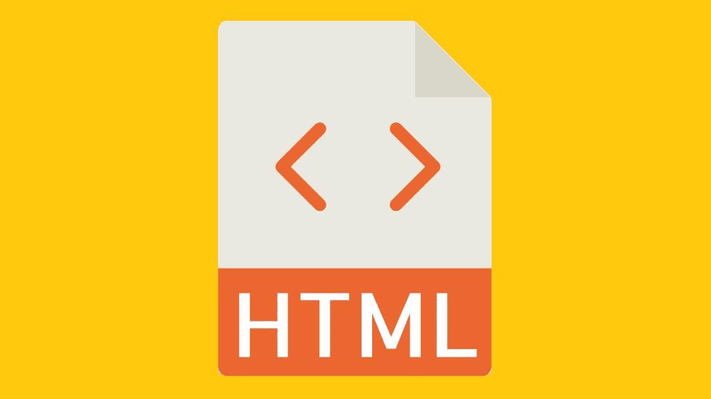 HTML file icon.