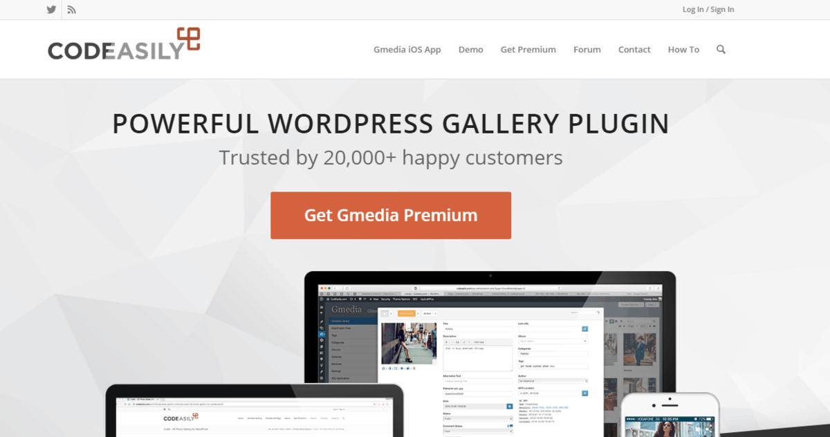 GMedia Gallery's homepage