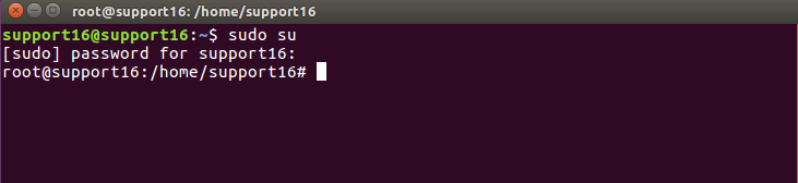 enabling administrative rights on Ubuntu Terminal