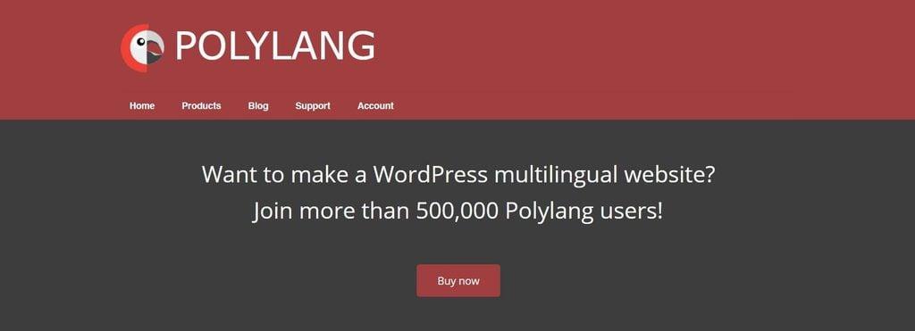 PolyLang homepage.