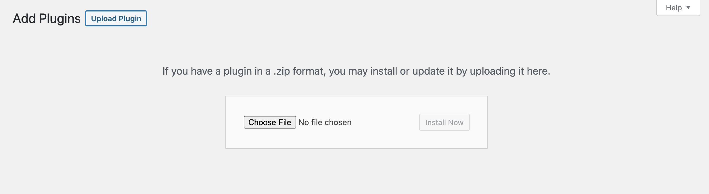 Manually add a new plugin