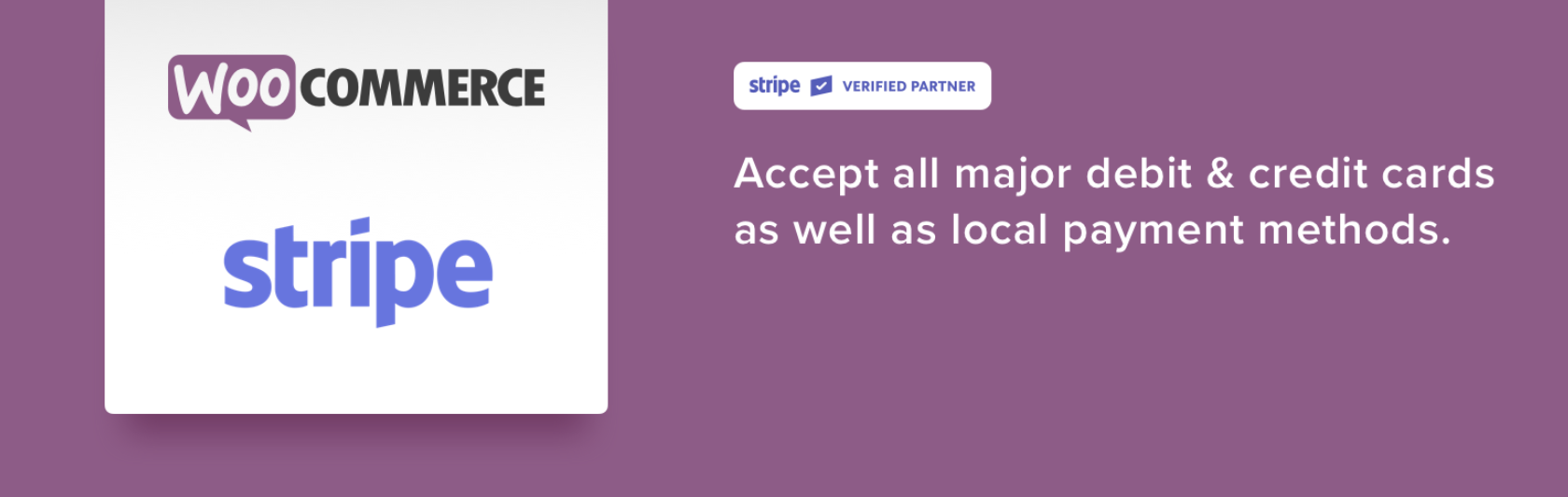 stripe for woocommerce banner