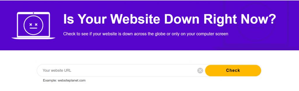 website planet homepage