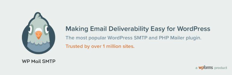 WP Mail SMTP plugin logo