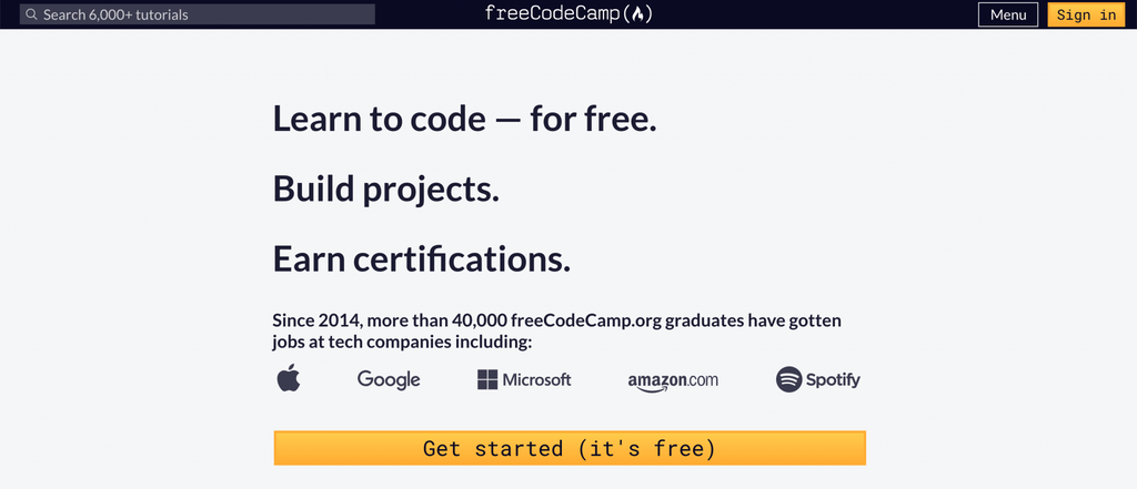 Free Code Camp - Learn Coding and Programming