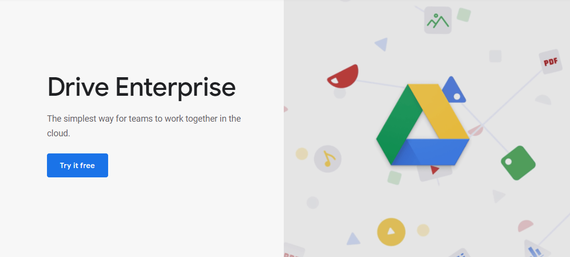 Aplikasi project management, Google Drive