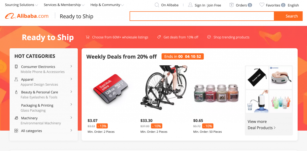 Alibaba Wholesaler