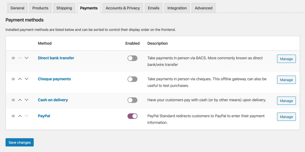 Setting Up PayPal on WooCommerce