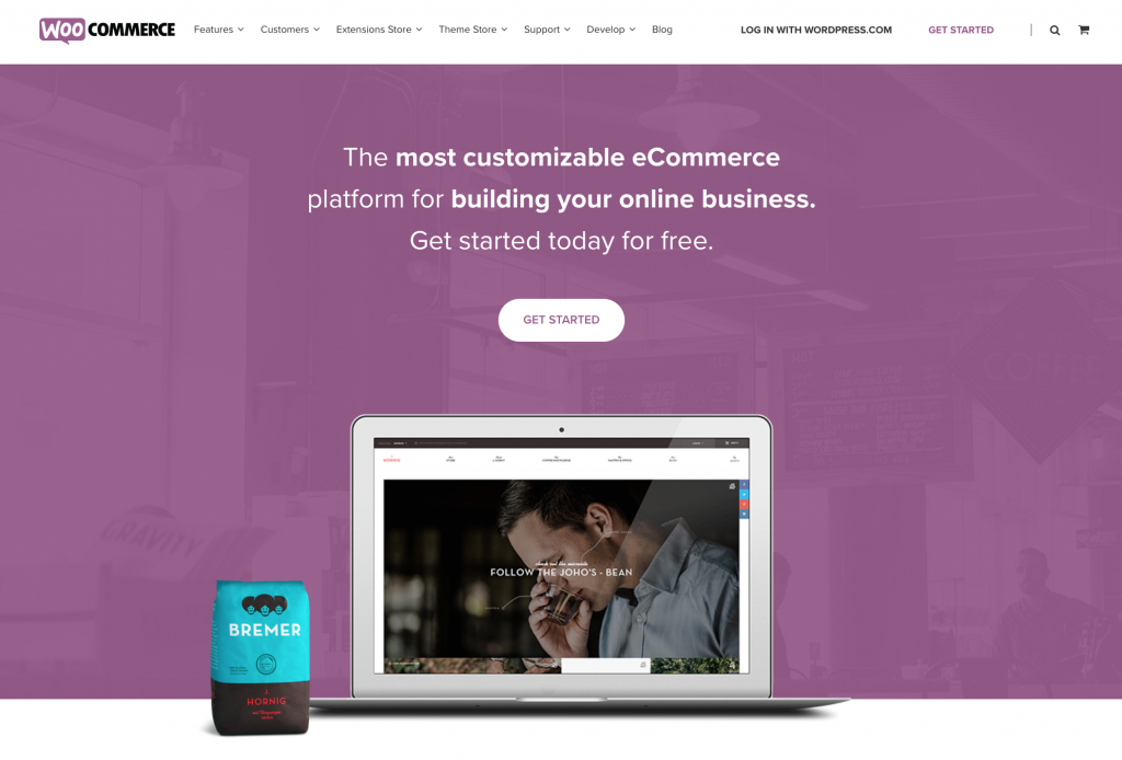 WooCommerce, Ecommerce Plugin for Online Boutique