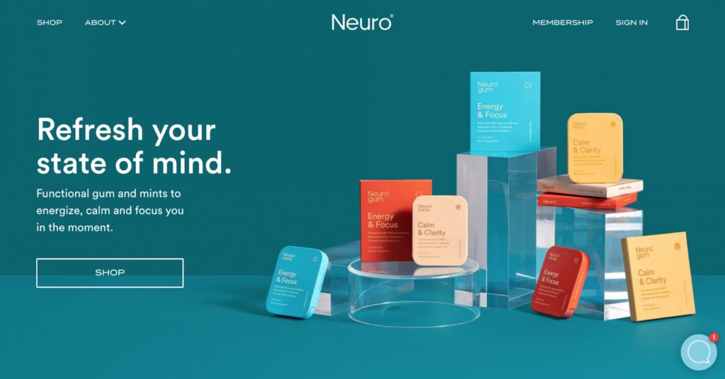trang thương mại điện tử neuro