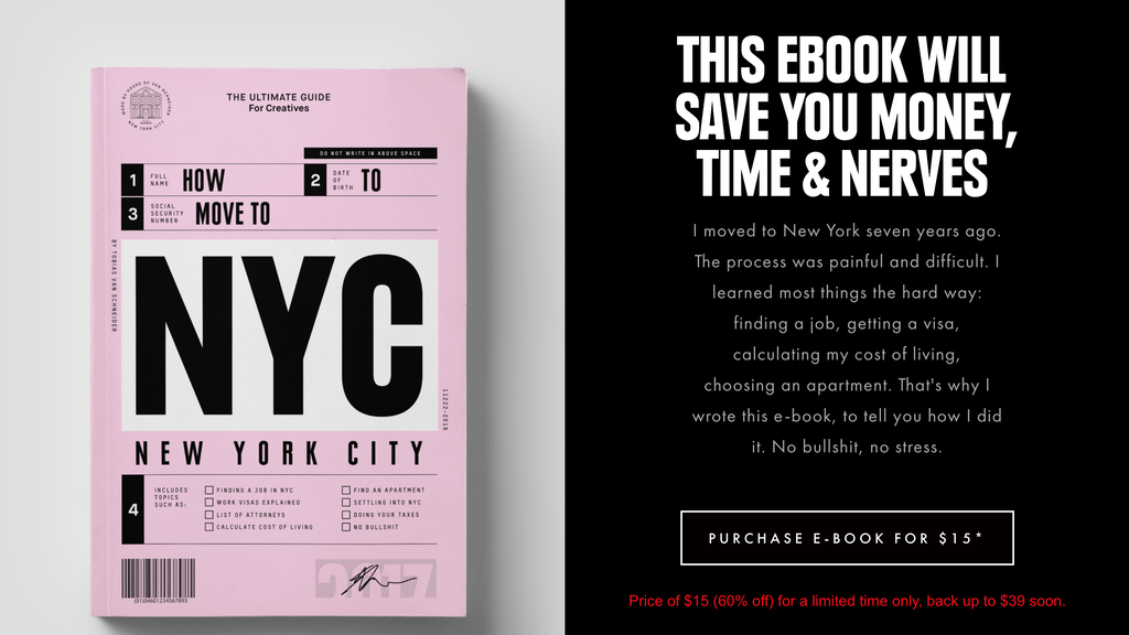 Let's Go to NYC's Landing Page