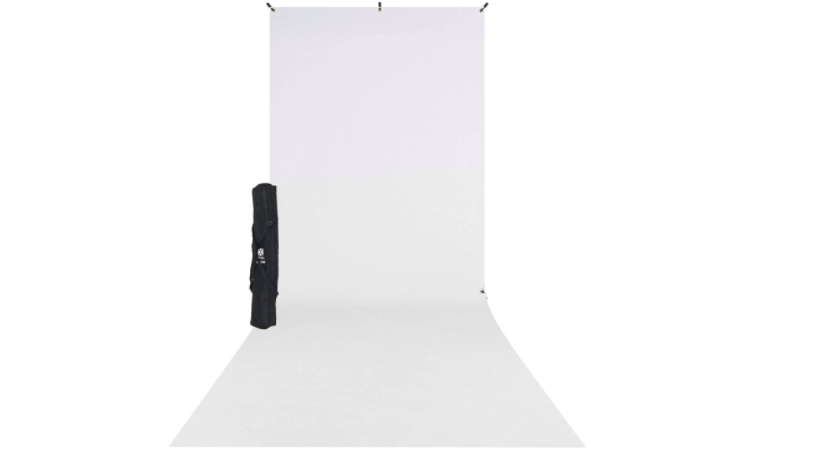 Illustration how to setup white background