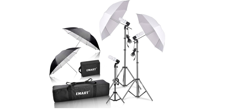 Image of photography lighting kit