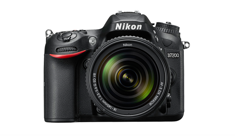 An image of Nikon D7200 DSLR camera