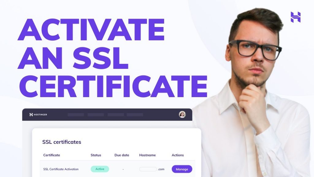 How To Activate an SSL Certificate Onto Your Domain