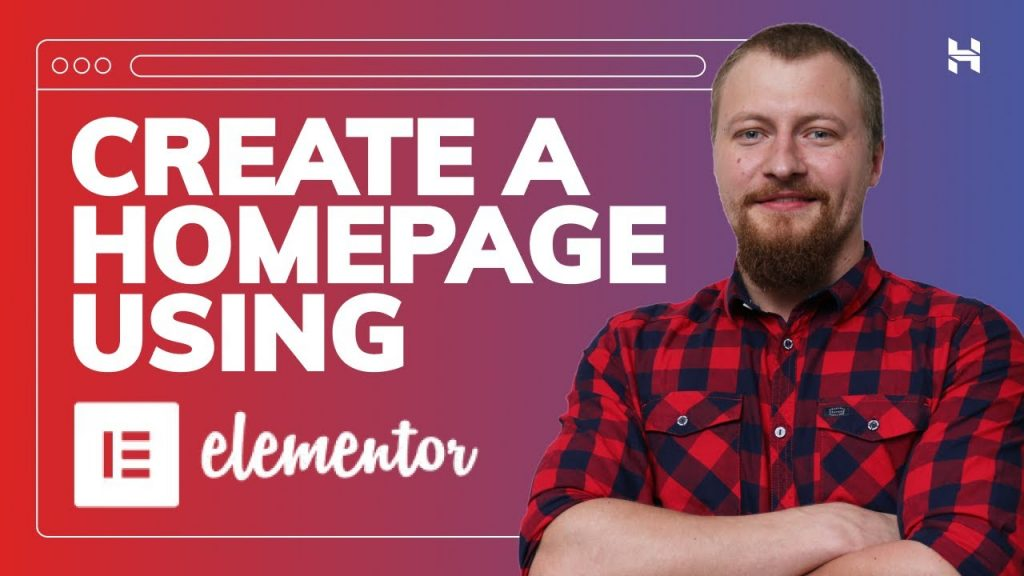 How to Create a Homepage in Your WordPress Website Using Elementor