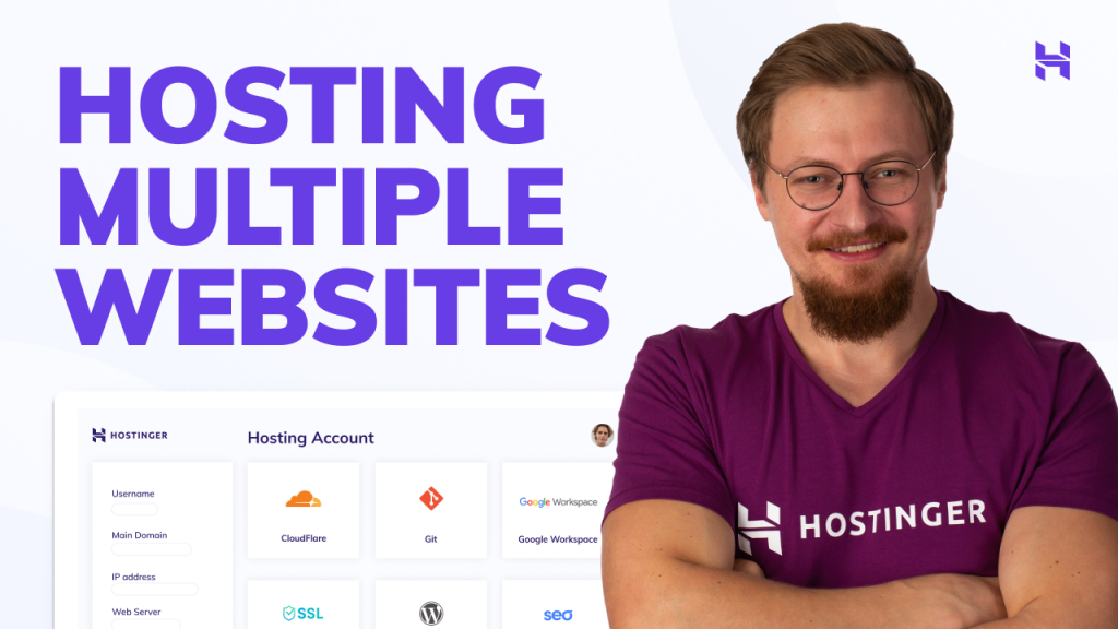 How to Host Multiple Websites With Your Hosting Plan | Hostinger | hPanel