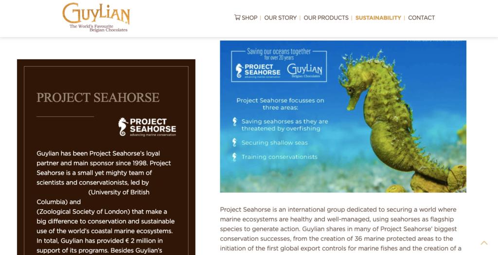 Guylian homepage