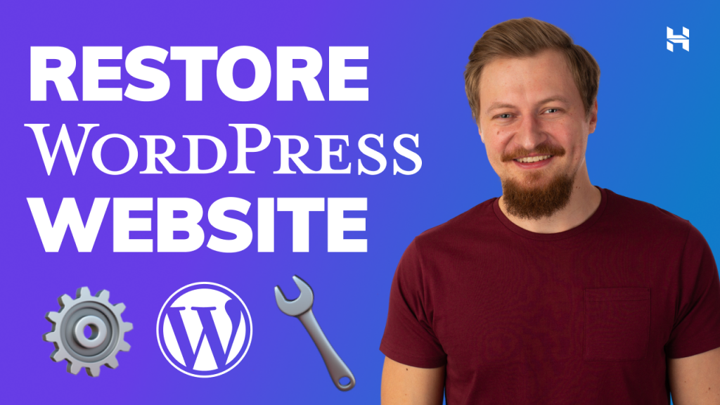 How to Restore WordPress Website