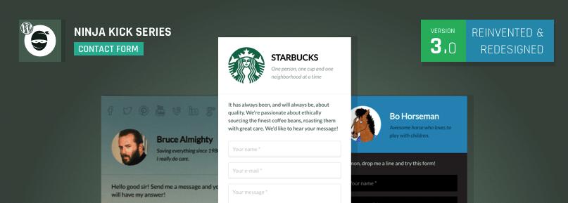 Ninja Kick WordPress contact form plugin