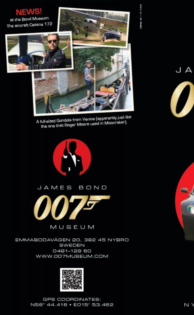 James Bond museum's mobile website