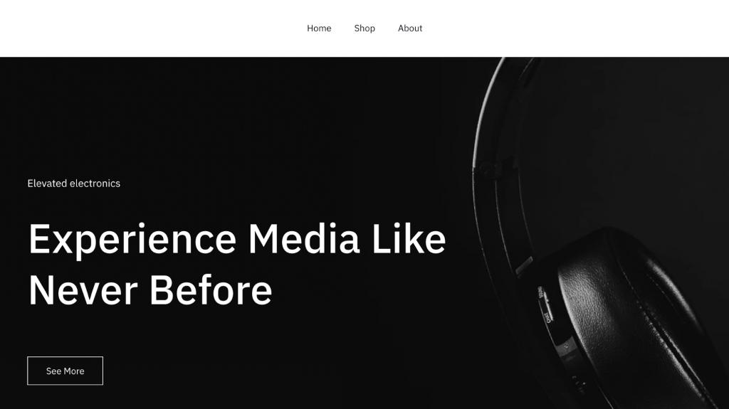 Safa website template
