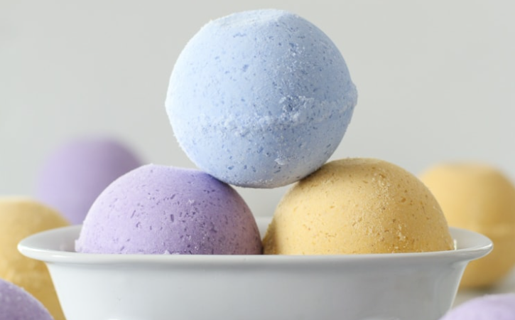 Picture of bath bombs.