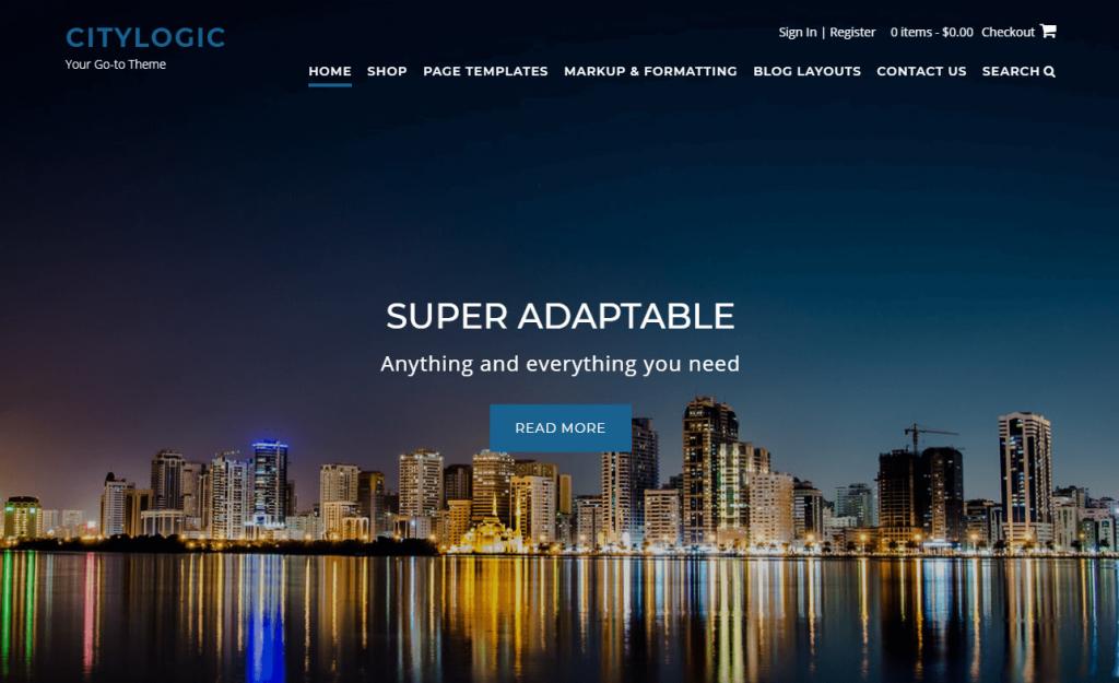 CityLogic business theme