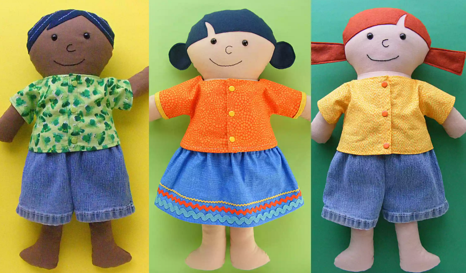 Picture of doll clothing.