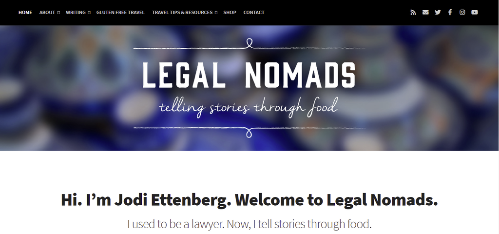 Travel blog Legal Nomads