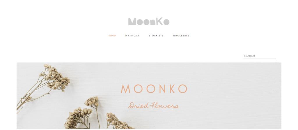 Crafts website Moonko