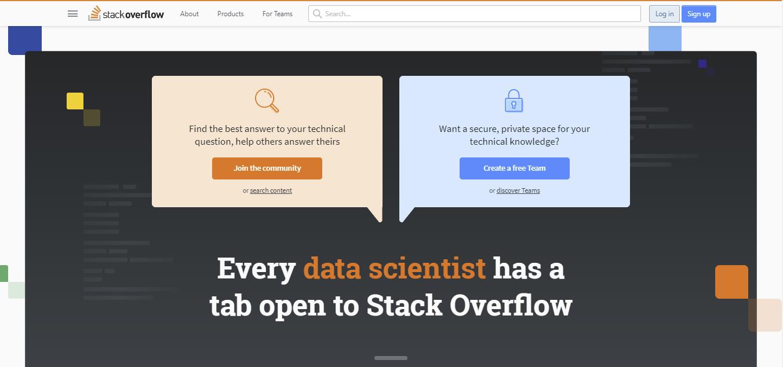 Online forum Stack Overflow