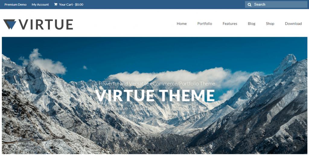 Virtue theme