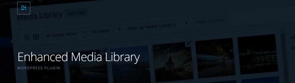 Enhanced Media Library logo.